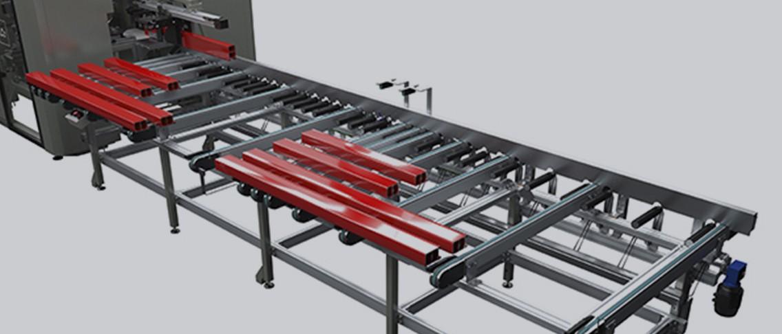 New Smart Unloading Table For Emmegi Quadra Range