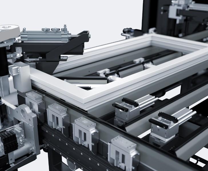 Assemblaggio e logistica ABS H2 Rotazione Della Cornice Someco